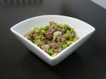 お豆と挽き肉の煮込み