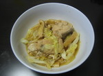鮭水煮缶の煮物