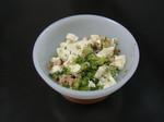 ツナ&ブロッコリーの豆腐和え